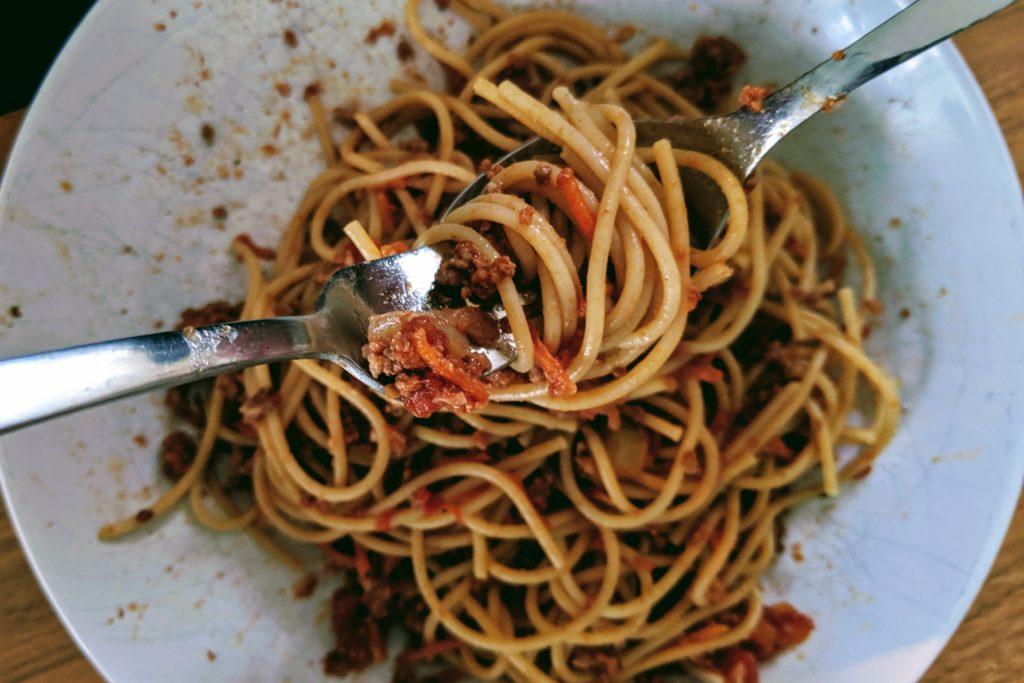 Spaghettis bolognaise pour 9 SmartPoints